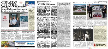 Gibraltar Chronicle – 29 October 2018