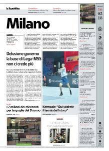 la Repubblica Milano - 16 Maggio 2018
