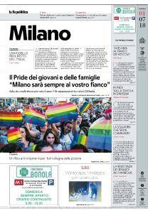 la Repubblica Milano - 1 Luglio 2018