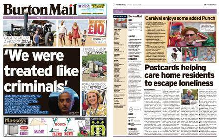 Burton Mail – July 23, 2018