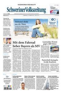 Schweriner Volkszeitung Hagenower Kreisblatt - 13. März 2018