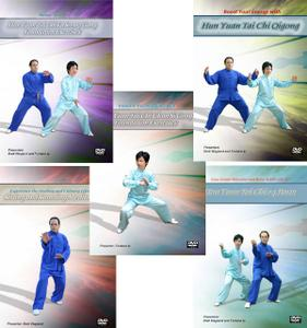 Tai Chi 5 DVD Set for Relaxation and Better Health