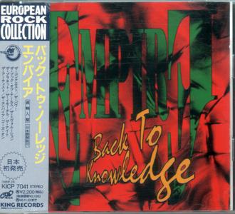Empire - Back To Knowledge (1994) {Japanese Edition}