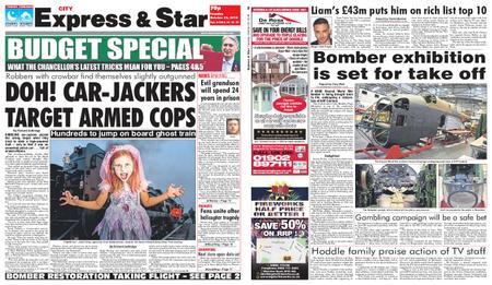 Express and Star City Edition – October 30, 2018