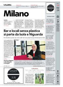 la Repubblica Milano - 19 Febbraio 2019