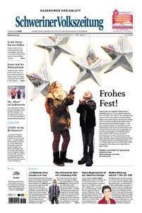 Schweriner Volkszeitung Hagenower Kreisblatt - 23. Dezember 2017