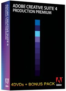 Adobe Creative Suite Production Premium CS4 Retail Multilanguage - 4DVDs + Bonus Pack (30.01.2010)