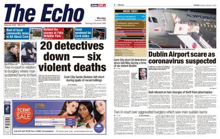 Evening Echo – February 03, 2020