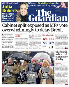 The Guardian - March 15, 2019