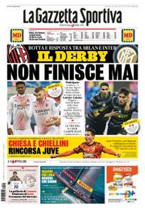 La Gazzetta dello Sport – 31 gennaio 2021