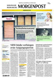 Solinger Morgenpost – 21. März 2020