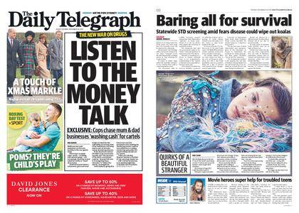 The Daily Telegraph (Sydney) – December 26, 2017