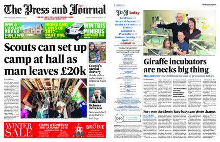 The Press and Journal Moray – December 26, 2017