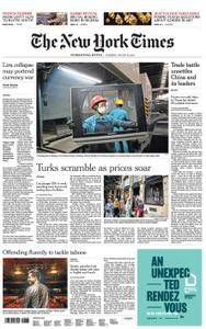 International New York Times - 16 August 2018