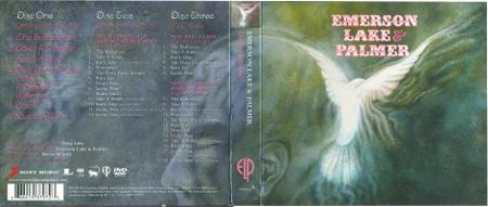 Emerson Lake & Palmer - Emerson Lake & Palmer (1970) [2012, 2CD + DVD, Deluxe edition] Repost