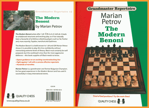 CHESS • Grandmaster Repertoire 12 • The Modern Benoni by Marian Petrov