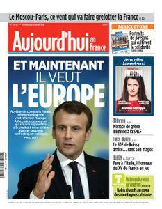 Aujourd'hui en France du Vendredi 23 Février 2018