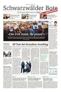 Schwarzwälder Bote Hechingen - 16. März 2019