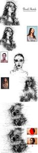 Pencil Sketch Photoshop Action 3557576