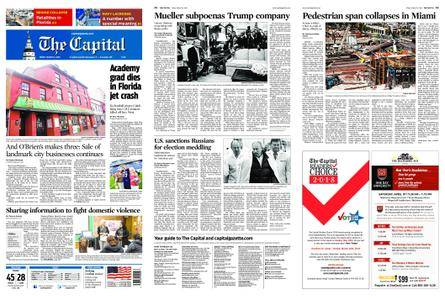 The Capital – March 16, 2018