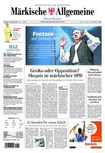 Märkische Allgemeine Dosse Kurier - 16. Januar 2018