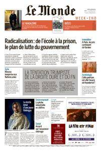Le Monde du Samedi 24 Février 2018