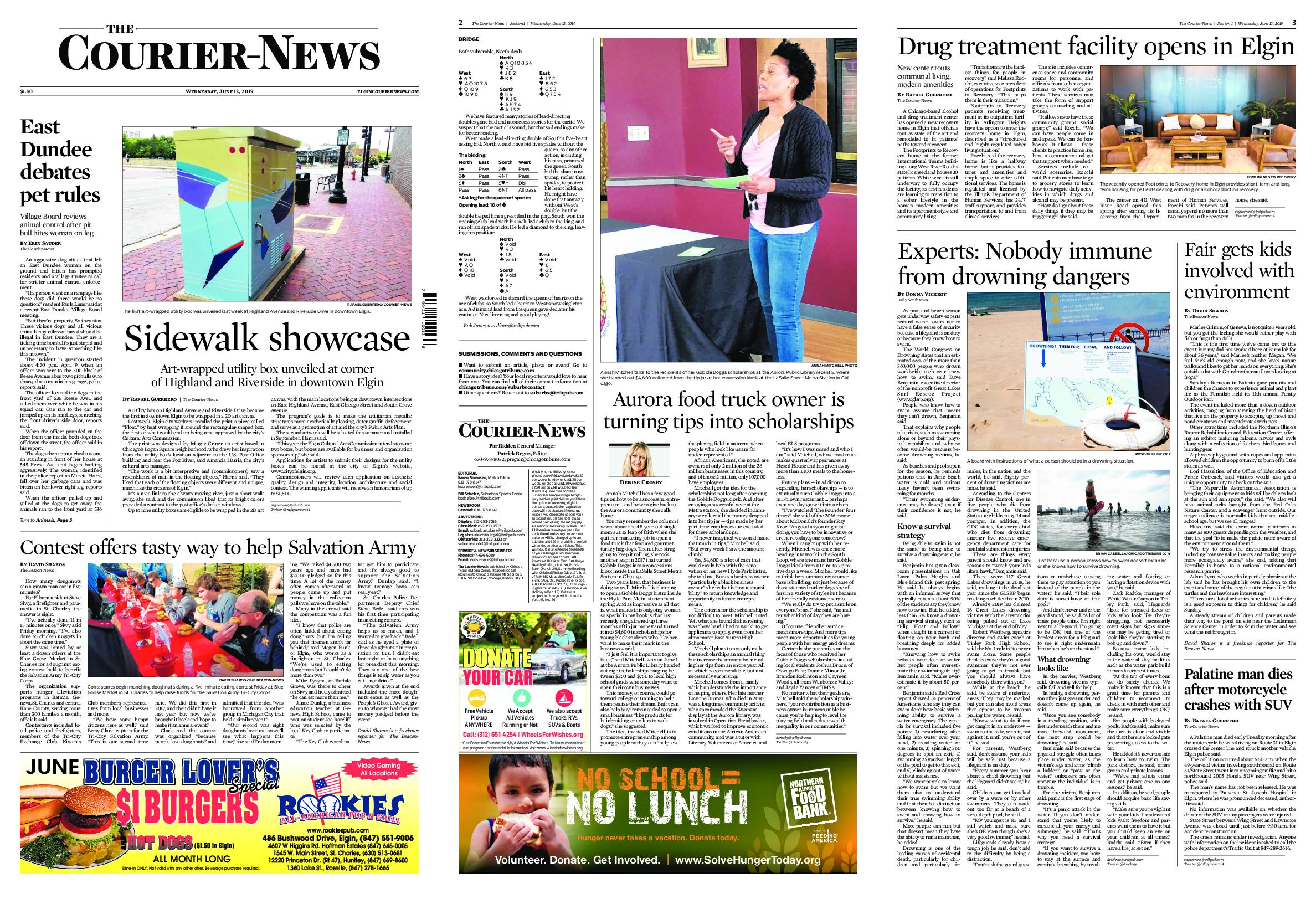 The Courier-News – June 12, 2019