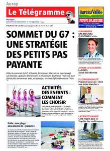 Le Télégramme Auray – 27 août 2019
