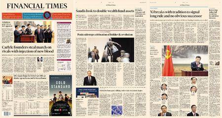 Financial Times Europe – 26 October 2017