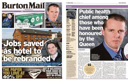 Burton Mail – January 01, 2021