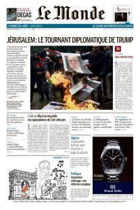 Le Monde du Vendredi 8 Décembre 2017
