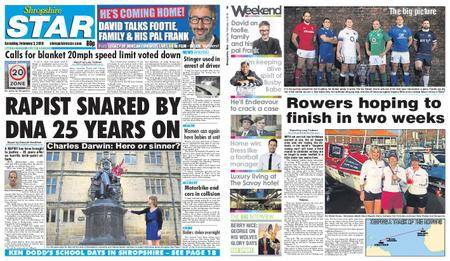 Shropshire Star Shrewsbury Edition – February 03, 2018
