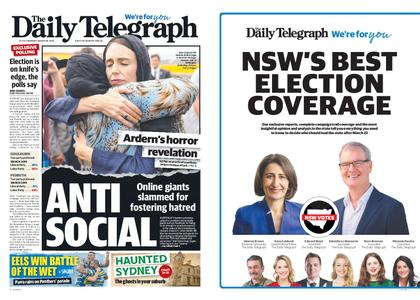 The Daily Telegraph (Sydney) – March 18, 2019