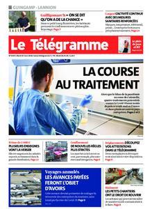 Le Télégramme Guingamp – 24 mars 2020