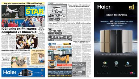 The Philippine Star – Disyembre 06, 2019