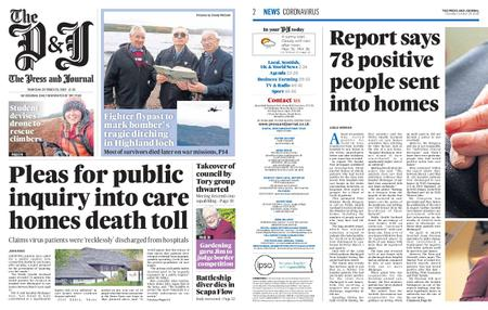 The Press and Journal Moray – October 29, 2020