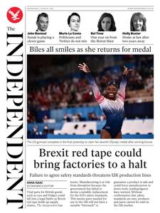 The Independent - 04 August 2021