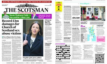 The Scotsman – April 30, 2019