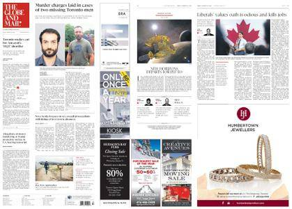 The Globe and Mail – January 19, 2018