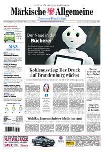 Märkische Allgemeine Zossener Rundschau - 04. November 2017