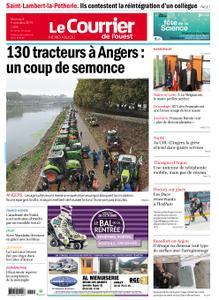 Le Courrier de l'Ouest Nord Anjou – 09 octobre 2019