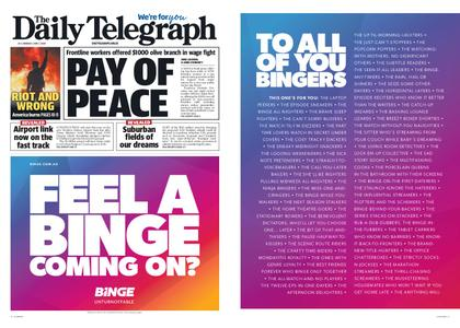 The Daily Telegraph (Sydney) – June 01, 2020
