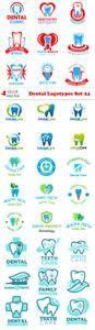 Vectors - Dental Logotypes Set 24