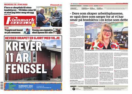 Finnmark Dagblad – 29. juni 2020