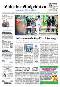 Lübecker Nachrichten Stormarn - 10. Oktober 2019