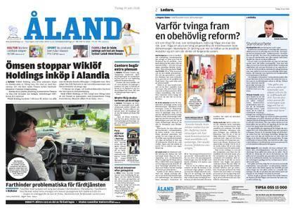 Ålandstidningen – 19 juni 2018
