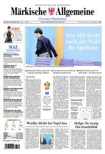 Märkische Allgemeine Zossener Rundschau - 26. September 2017