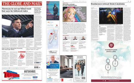 The Globe and Mail – October 20, 2017