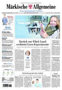 Neue Oranienburger Zeitung - 27. September 2018