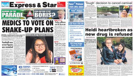 Express and Star Sandwell Edition – June 19, 2019
